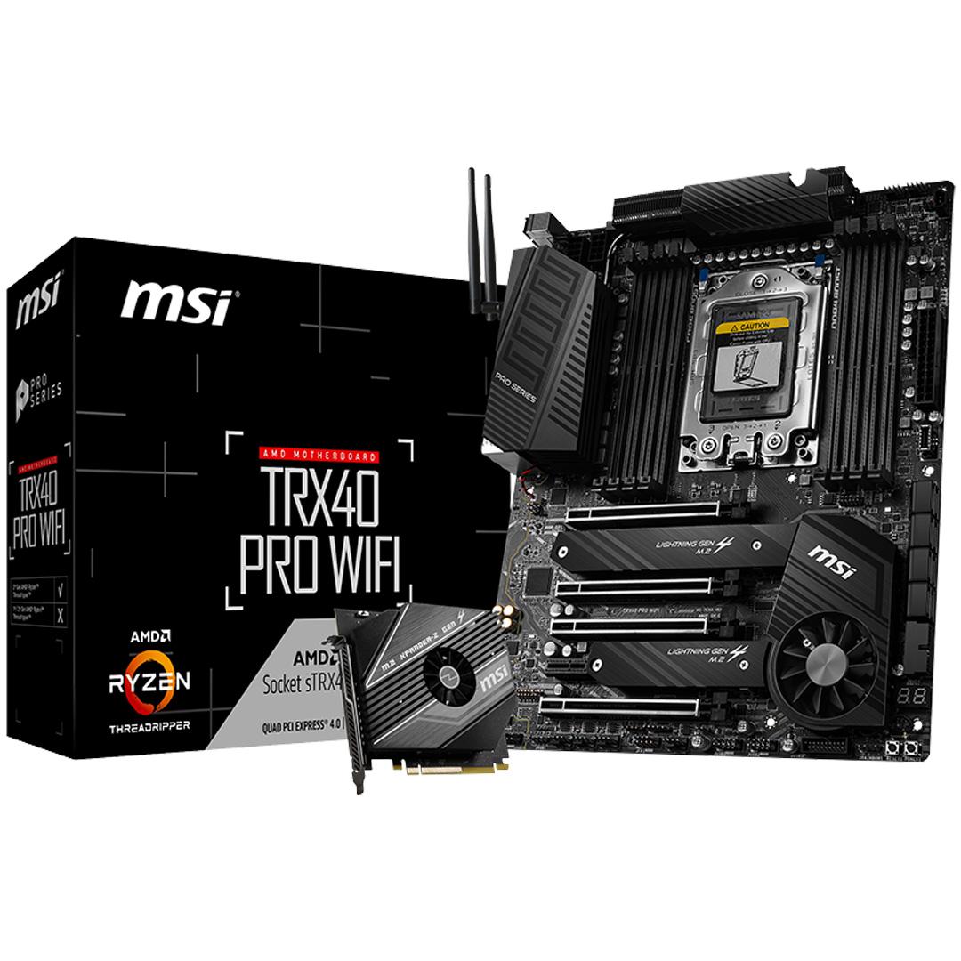 MSI TRX40 Pro Wi-Fi Motherboard