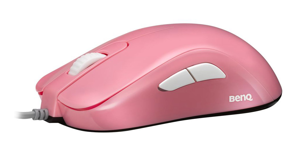 Zowie S1 Gaming Mouse Divina Pink