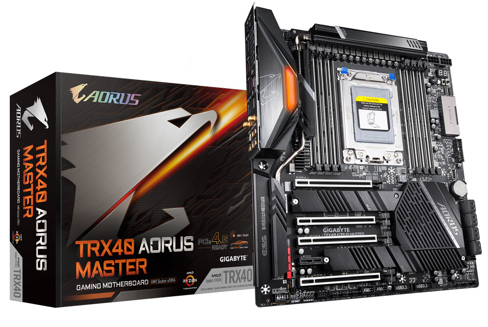 Gigabyte TRX40 Aorus Master Motherboard