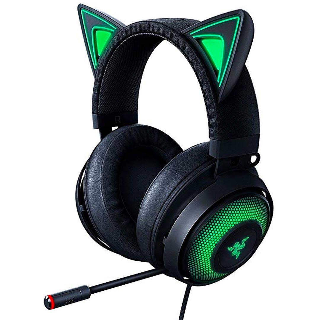 Razer Kraken Kitty RGB Gaming Headset Black