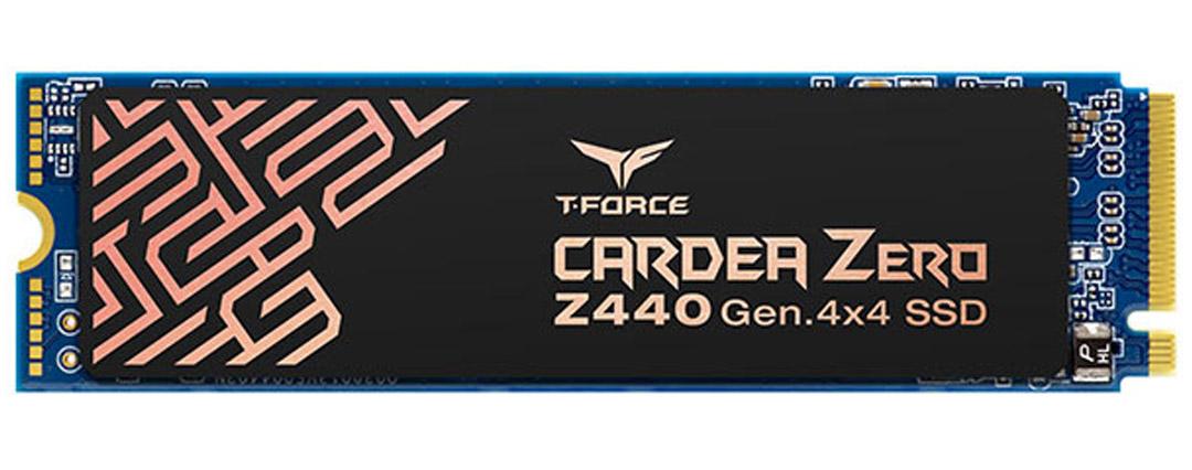 Team Cardea Zero Z440 M.2 NVME PCIe Gen4 SSD 1TB