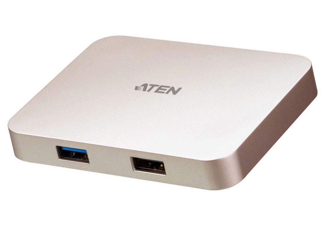 ATEN USB-C 4K Ultra Mini Dock with Power Pass-through