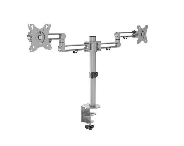 Brateck LDT30-C024 Dual Articulating Aluminum Monitor Arm