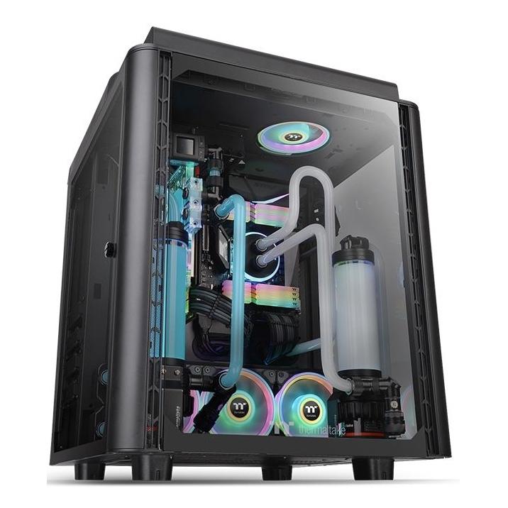 Thermaltake Level 20 HT TG RGB Tower Case Black