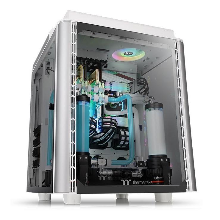 Thermaltake Level 20 HT Snow Edition TG RGB Tower Case White