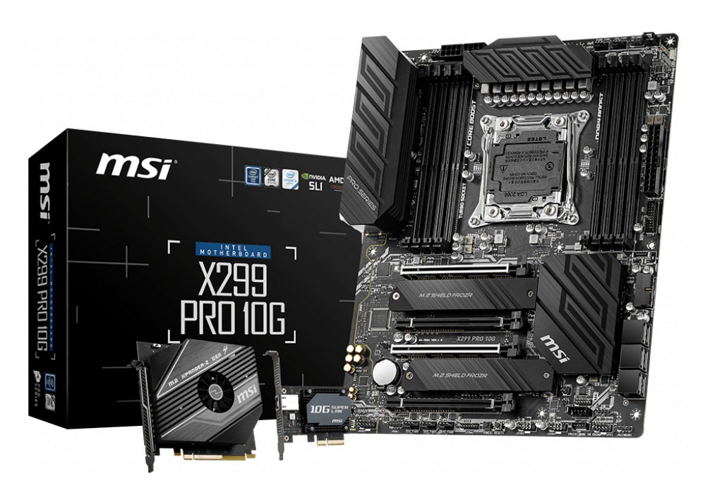 MSI X299 Pro 10G Motherboard