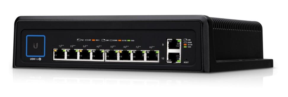 Ubiquiti UniFi Industrial 8 Port Managed Switch
