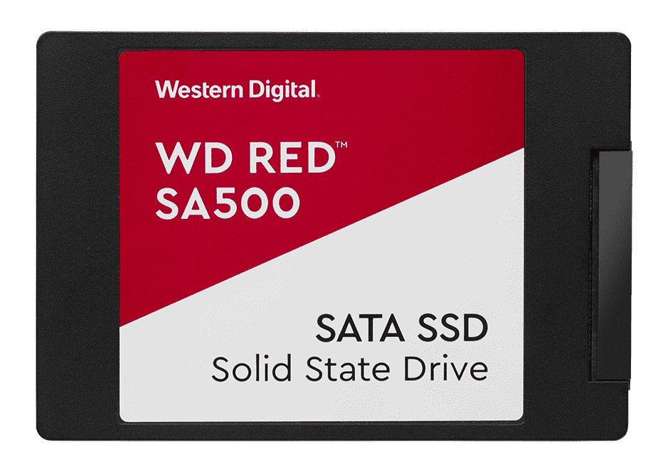 Western Digital Red SA500 2.5in SATA SSD 500GB