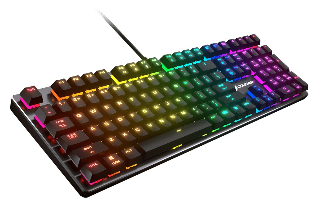 Cougar Vantar MX1 RGB Mechanical Gaming Keyboard Switch-M Red
