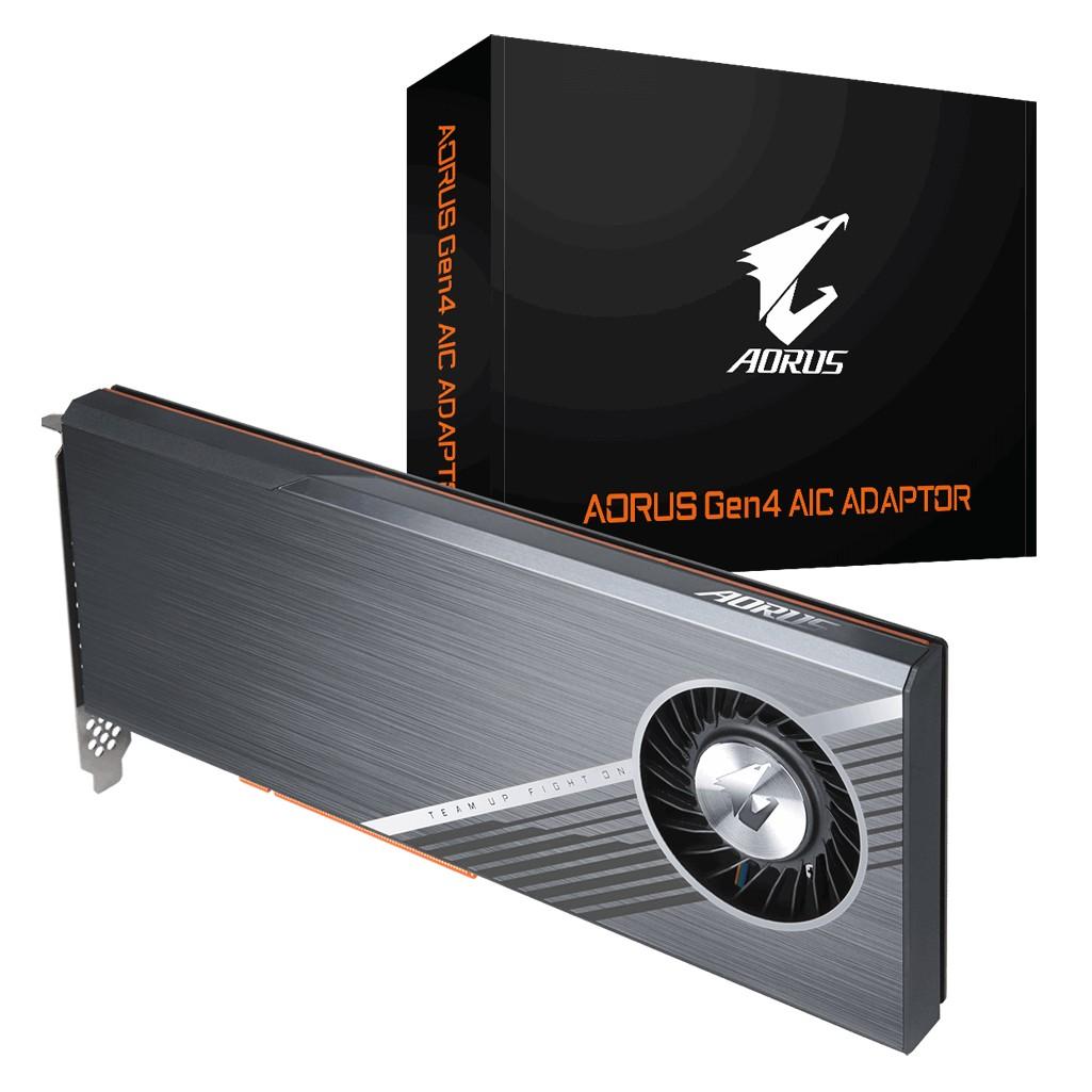 Gigabyte AORUS Gen4 PCIe 4x M.2 NVME Adaptor Card