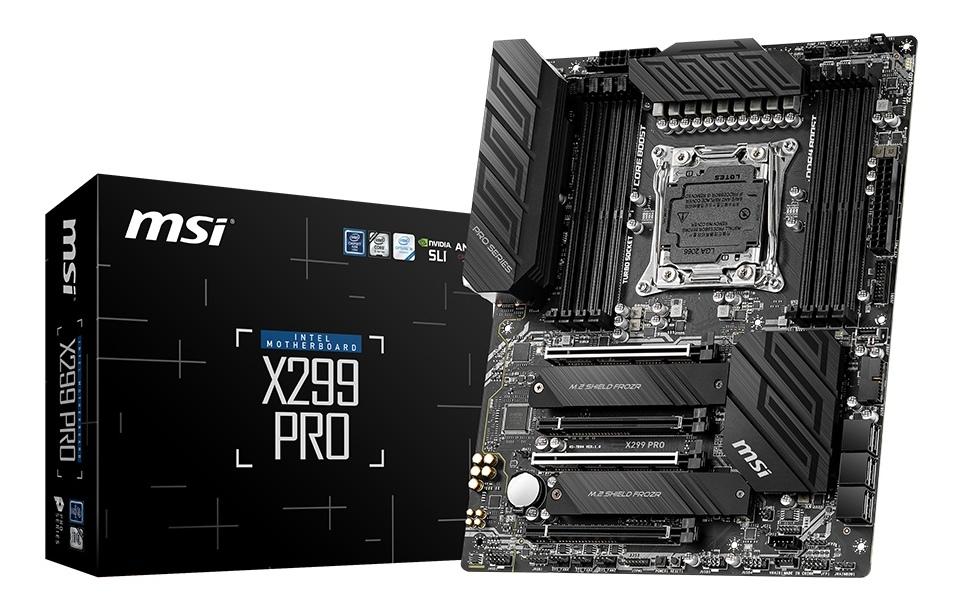 MSI X299 Pro Motherboard