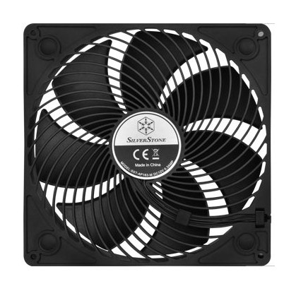 Silverstone AP183 180mm Case Fan Black