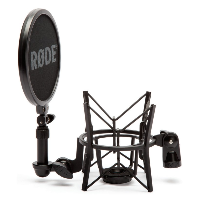 Rode Shock Mount With Pop Filter