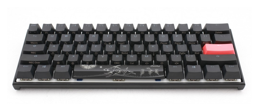 Ducky One 2 Mecha Mini RGB Mechanical Keyboard Silver