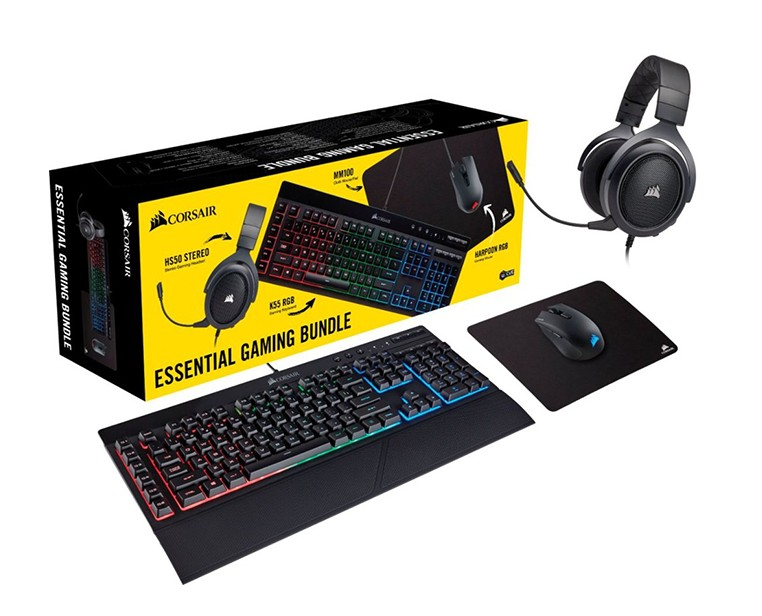 Corsair 4 in 1 Essential Gaming Bundle