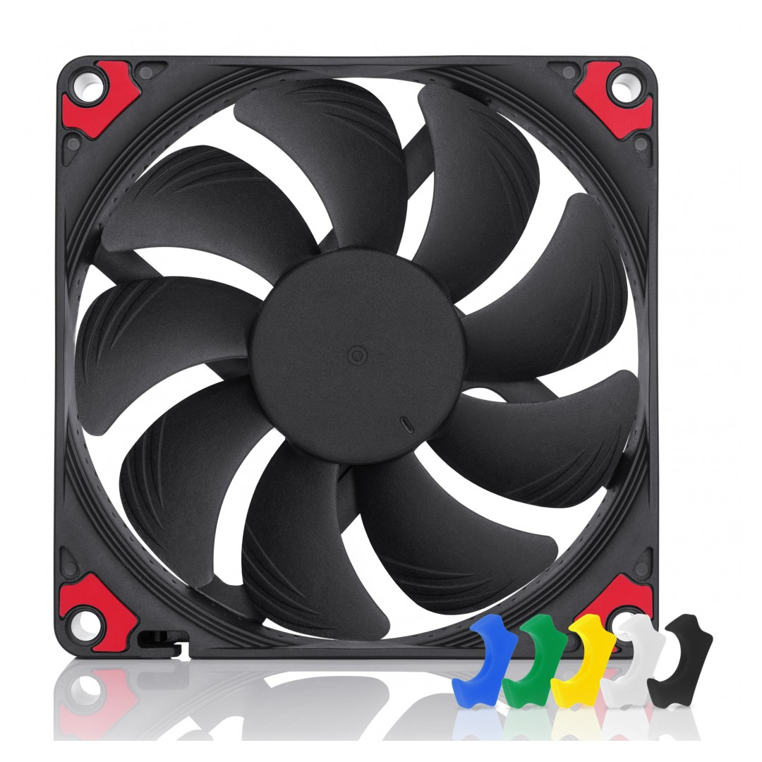 Noctua NF-A9x14 92mm PWM Chromax Fan Black