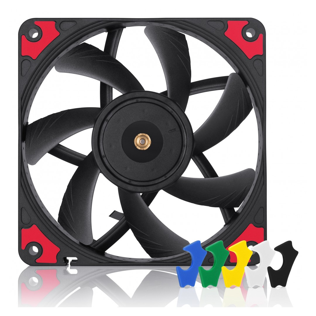 Noctua NF-A12x15 120mm PWM Chromax Fan Black