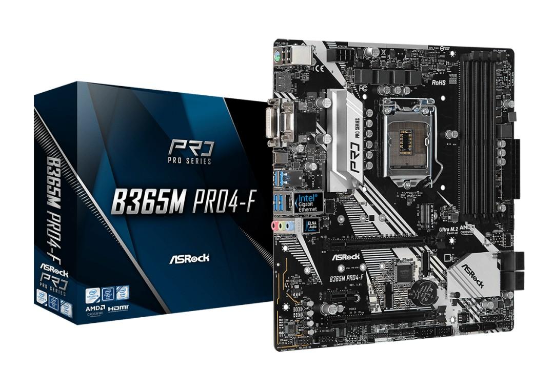 ASRock B365M Pro4-F Motherboard