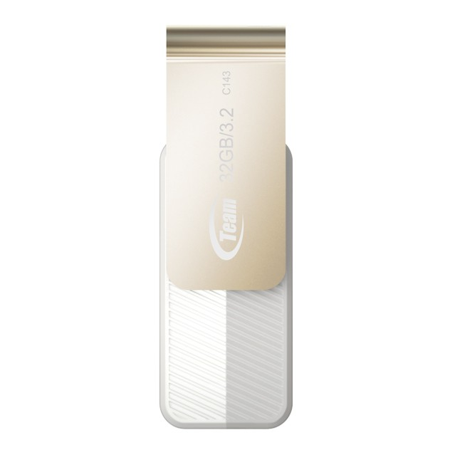 Team Group C143 USB 3.2 Flash Drive 32GB White