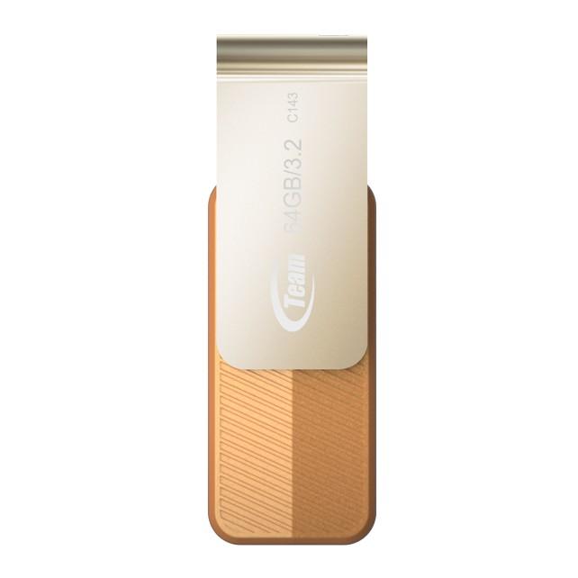Team Group C143 USB 3.2 Flash Drive 64GB Brown