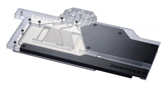 Phanteks RTX 2080 Ti Gigabyte Xtreme Edition GPU Block Black