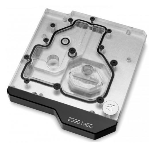 EK Momentum MSI Z390 MEG Ace D-RGB Plexi