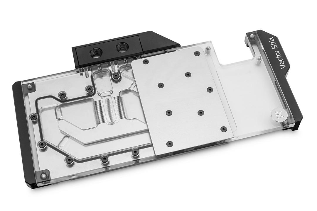 EK Quantum Vector Strix RX 5700 +XT D-RGB Nickel Plexi