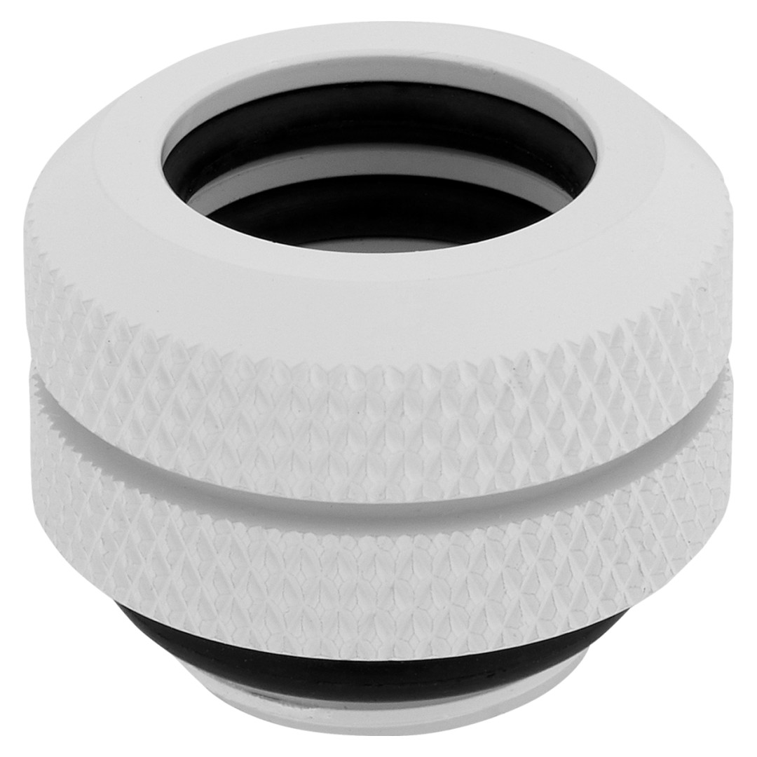 Corsair Hydro X Series XF HL 12mm OD Hard Fittings White 4 Pack