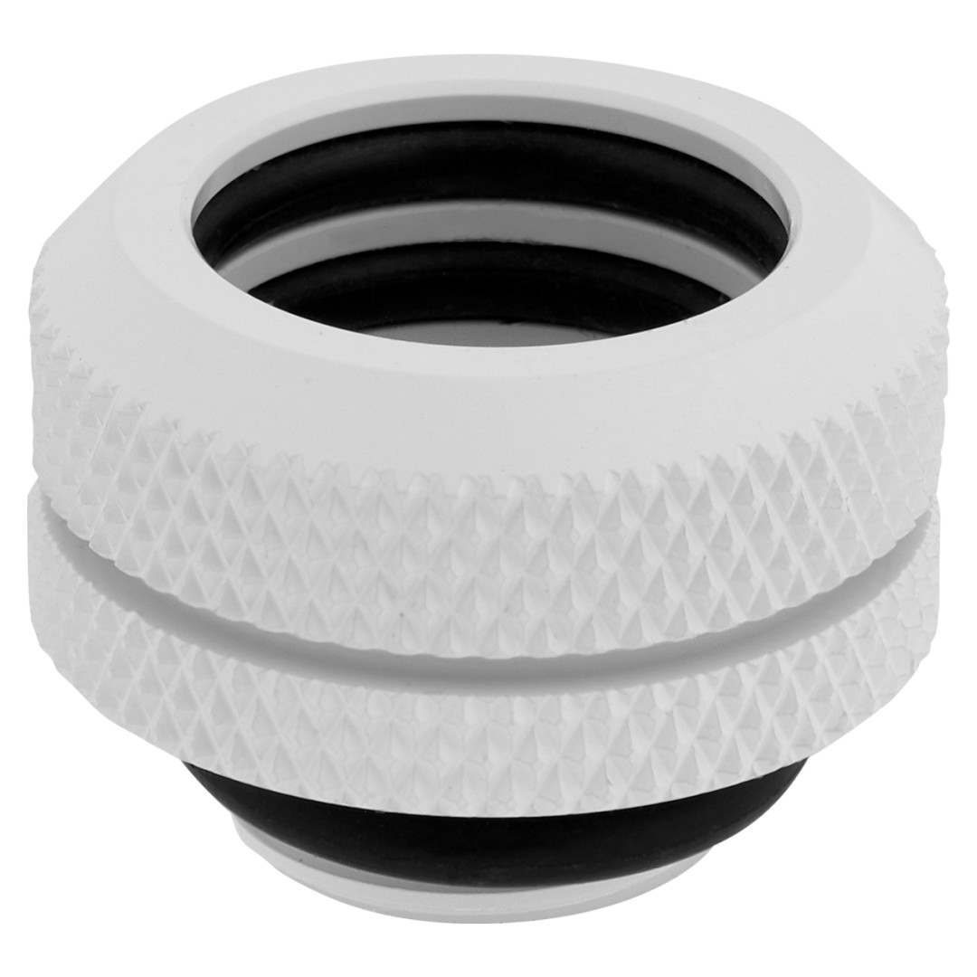 Corsair Hydro X Series XF HL 14mm OD Hard Fittings White 4 Pack