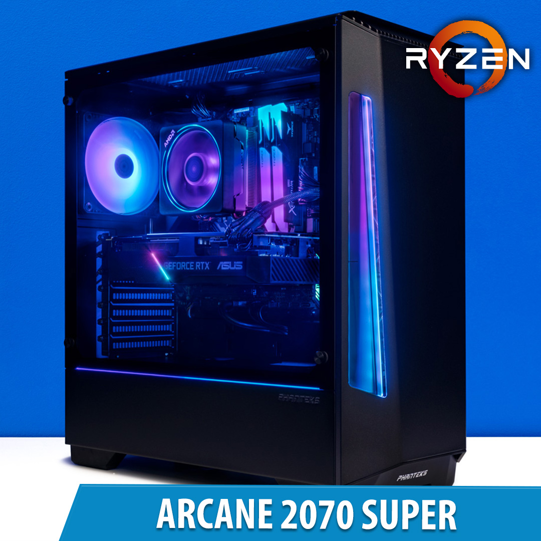 PCCG Arcane 2070 Super Gaming System