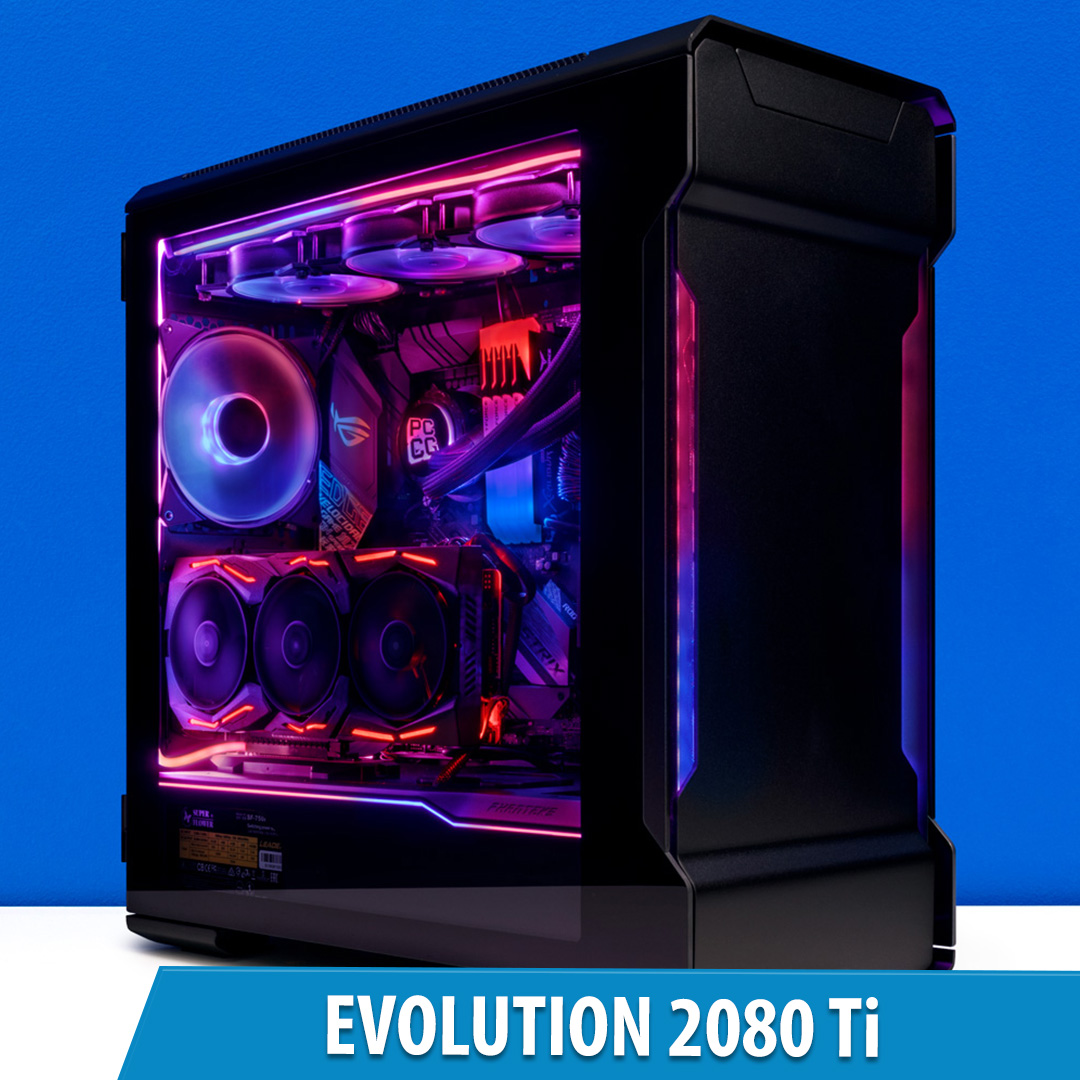 PCCG Evolution 2080 Ti Gaming System