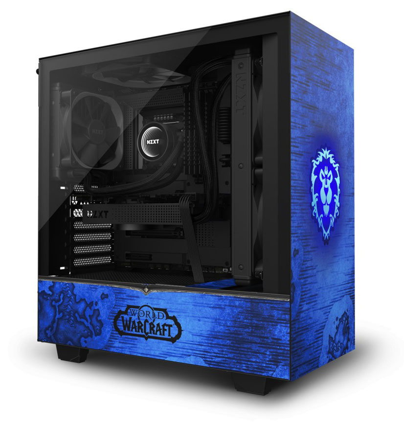 NZXT H510 Mid Tower Case Limited Edition WoW Alliance