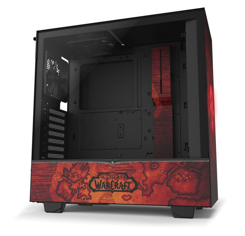 NZXT H510 Mid Tower Case Limited Edition WoW Horde