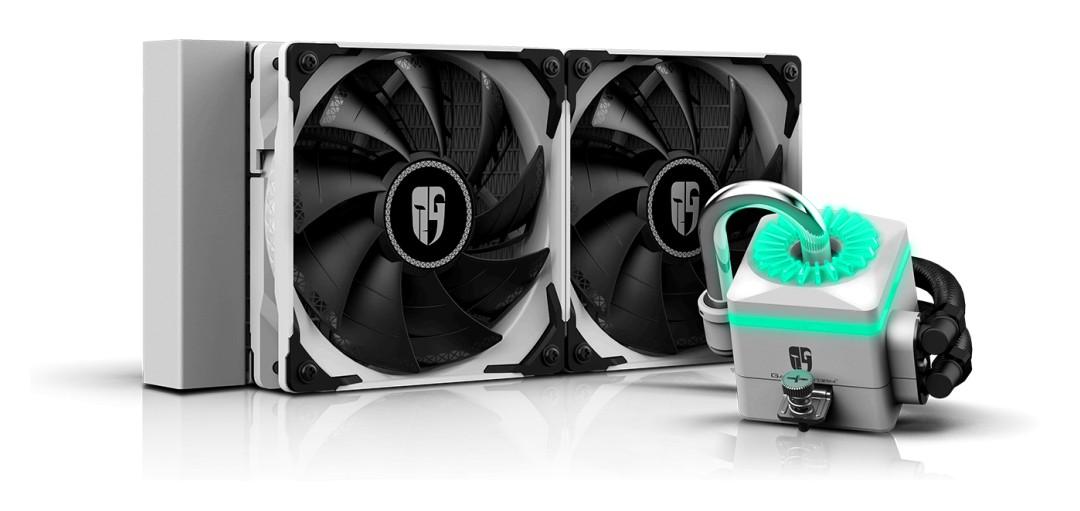 Deepcool Gamer Storm Captain 240X AIO Liquid CPU Cooler White