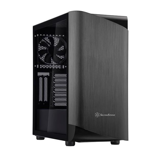 SilverStone SETA A1 ARGB TG Case Titanium/Black