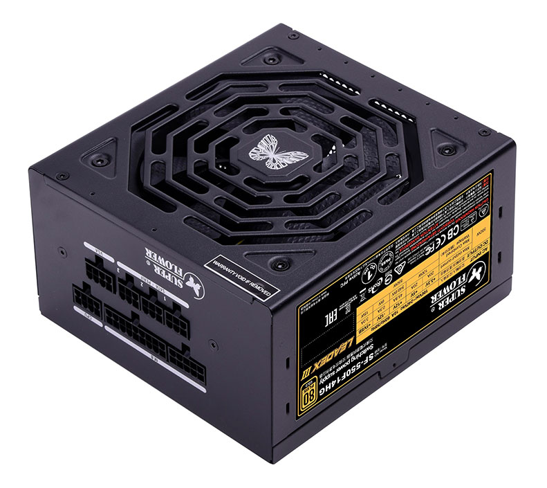 Super Flower Leadex III Gold 550W Power Supply