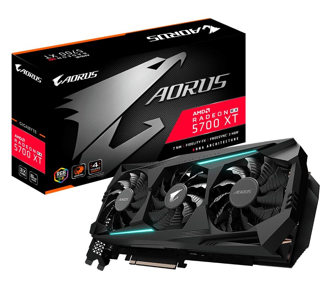 Gigabyte Radeon RX 5700 XT Aorus 8GB