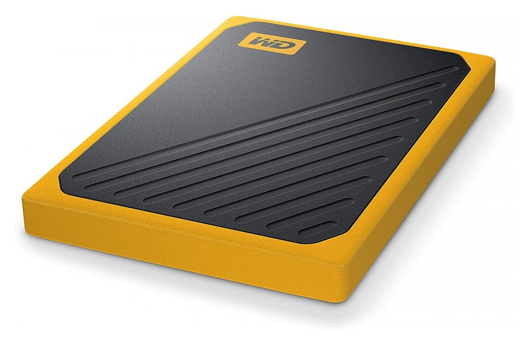 Western Digital My Passport Go Portable SSD 1TB Amber