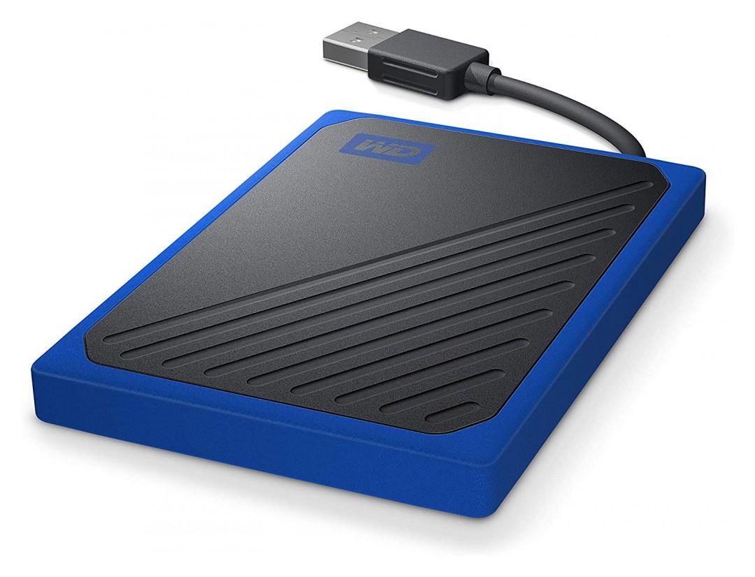 Western Digital My Passport Go Portable SSD 1TB Blue