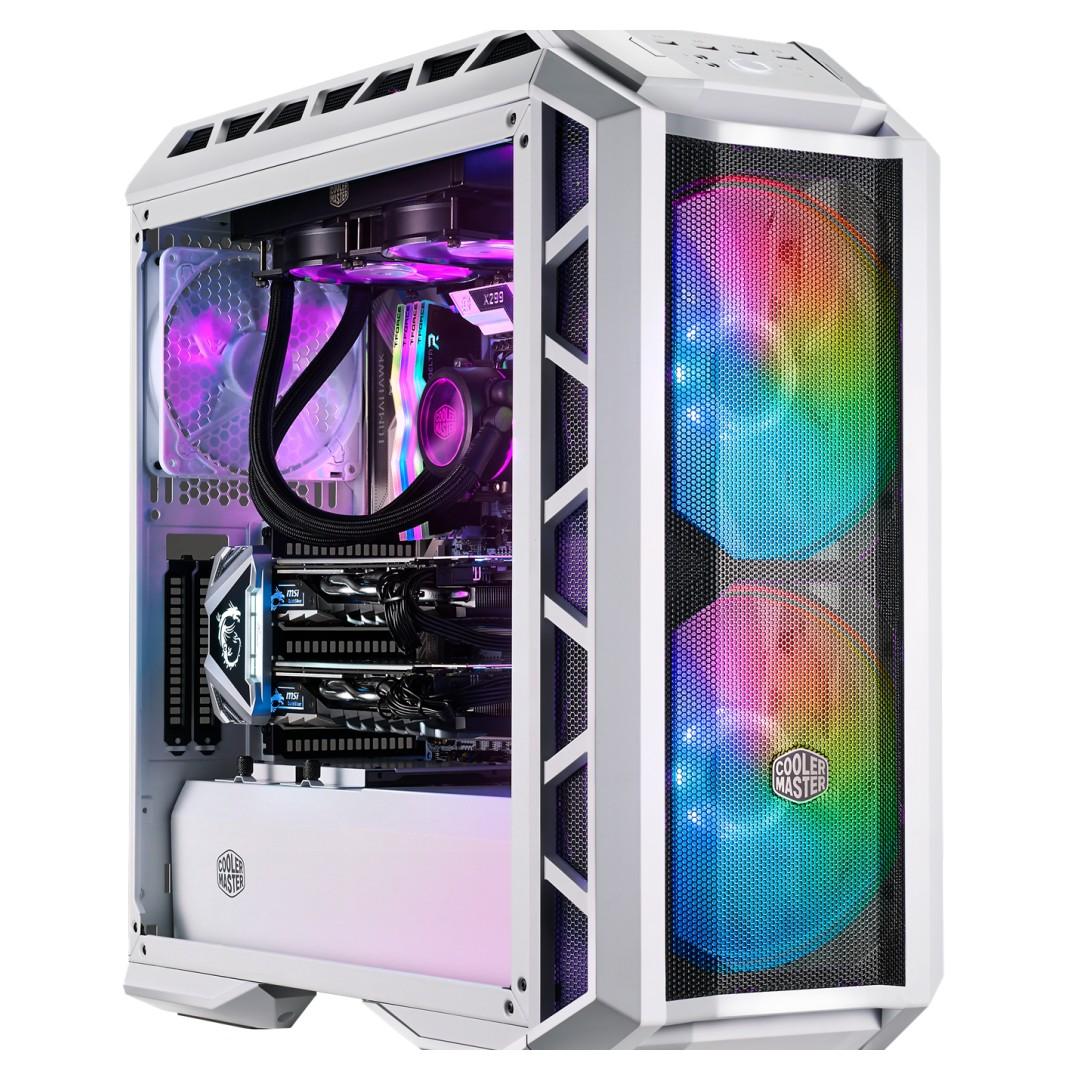 Cooler Master MasterCase H500P ARGB Mesh Case White