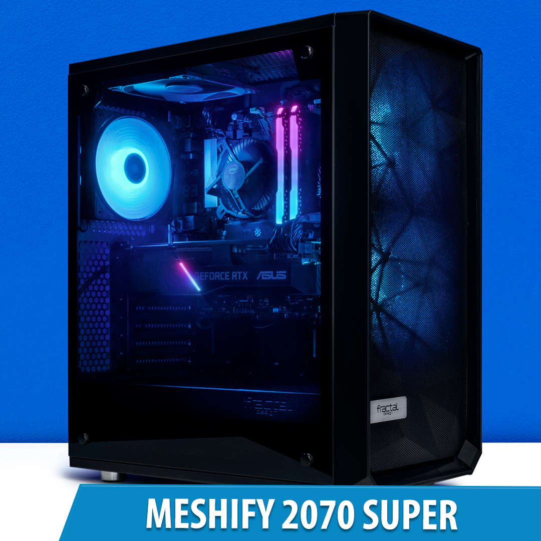 PCCG Meshify 2070 Super Gaming System