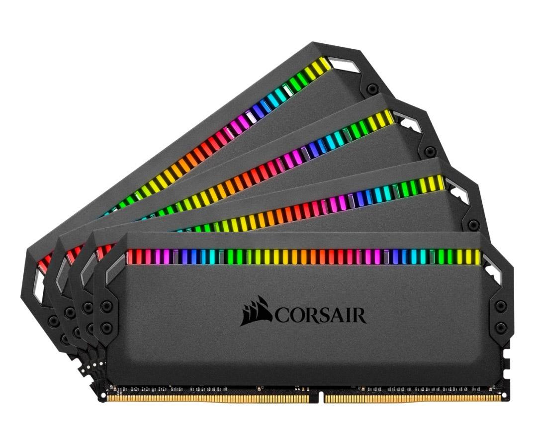 Corsair Dominator Platinum RGB 64GB (4x16GB) 3600MHz CL16 DDR4