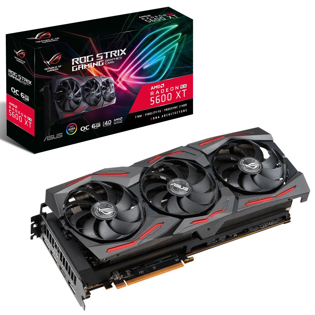 ASUS ROG Strix Radeon RX 5600 XT OC 6GB