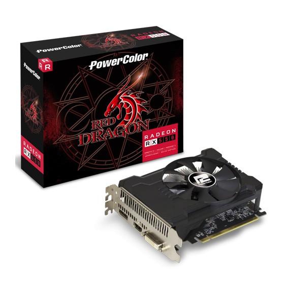 PowerColor Radeon RX 550 Red Dragon Edition 4GB