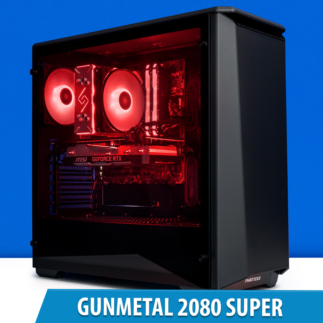 PCCG Gunmetal 2080 Super Gaming System