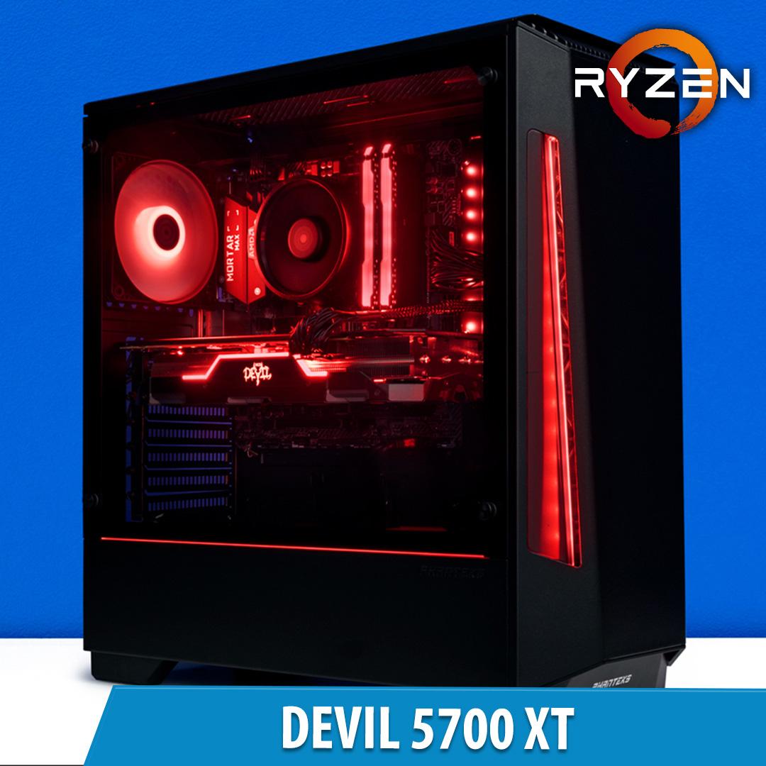 PCCG Devil 5700 XT Gaming System