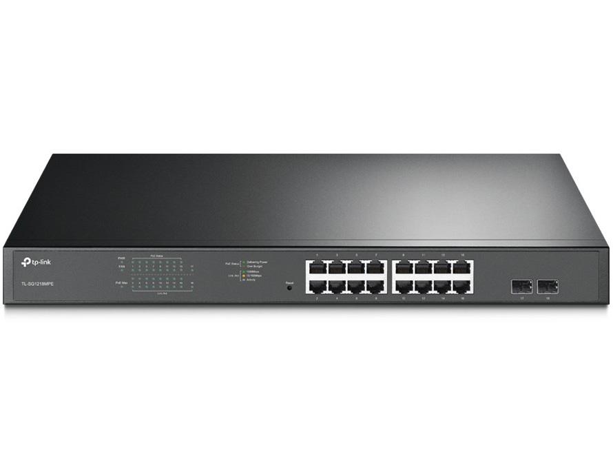 TP-Link TL-SG1218MPE 16-Port Gigabit Switch with PoE/PoE+