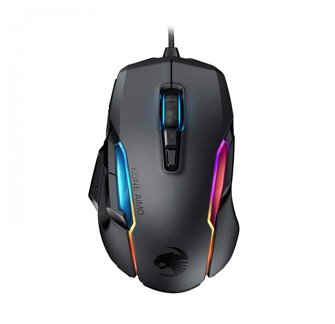 Roccat Kone AIMO Remastered Gaming Mouse Black