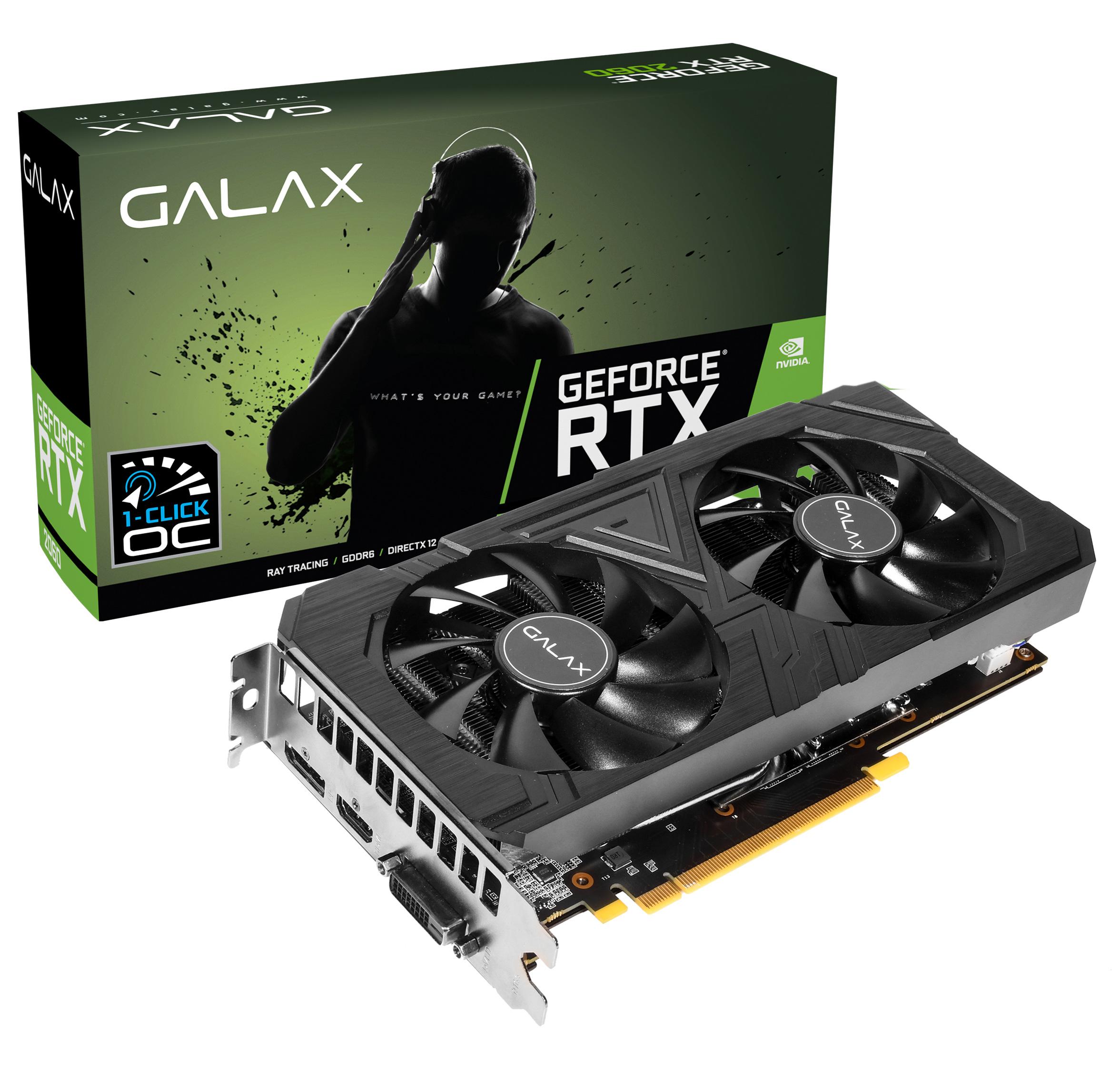 Galax GeForce RTX 2060 EX OC 6GB