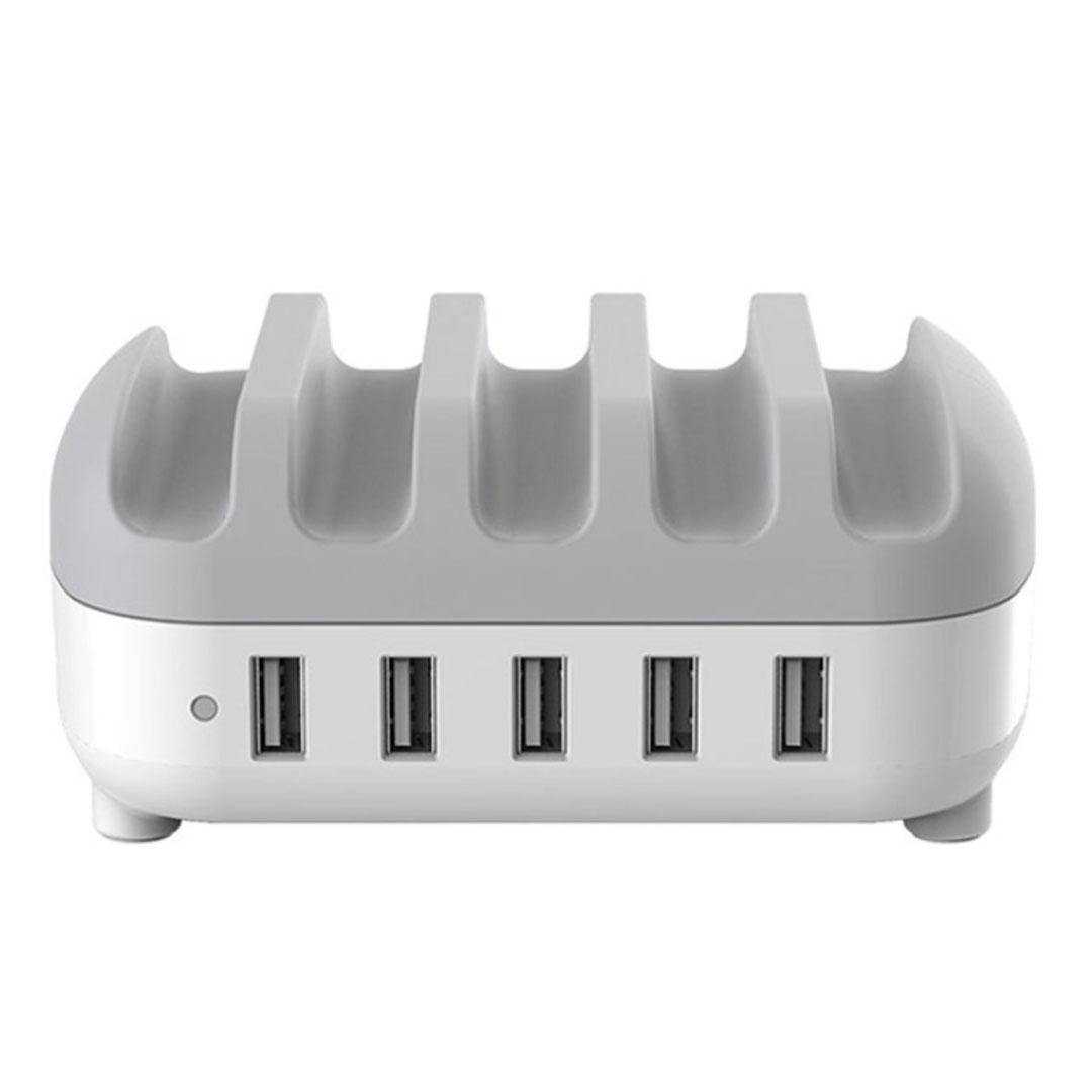 Orico 40W 5 Port USB Smart Charging Station White